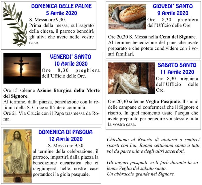 orari settimana santa e Pasqua-1